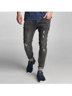 VSCT Clubwear Keanu Lowcrotch Jeans Black Vintage Destroyed