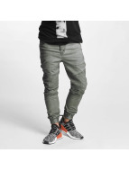 VSCT Clubwear Noah Biker Pants Olive Overdyed