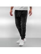 VSCT Clubwear Neo Cuffed Jeans Black Rinsed