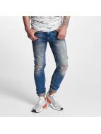 VSCT Clubwear Maurice Slim Kneecut Jeans Midblue Clean