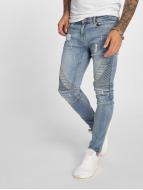VSCT Clubwear Jean slim Ryder Biker Luxury bleu