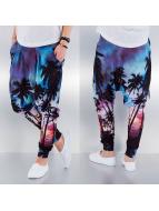 VSCT Clubwear joggingbroek Palms bont