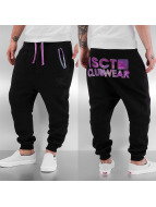 VSCT Clubwear joggingbroek Galaxy Logo zwart