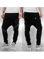 VSCT Clubwear joggingbroek Zipped Leg Avantgarde zwart
