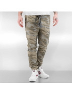 VSCT Clubwear Jogginghose Raw Edge camouflage