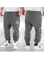VSCT Clubwear Jogginghose Logo Jogger Arkleg Crotch grau