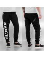 VSCT Clubwear Jogginghose Hashtag schwarz