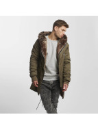 VSCT Clubwear Kurtki zimowe Double-Zipper khaki