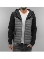 VSCT Clubwear Lightweight Jacket 2 Colour Amour Mix Fabric black