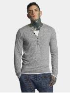 VSCT Clubwear Longsleeve Buttoned Double Optic grijs