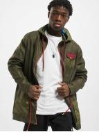 VSCT Clubwear Mantel Contrast Rain olive