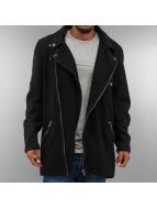 VSCT Clubwear Mantel Biker schwarz