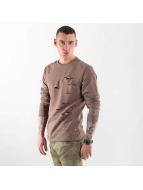 VSCT Clubwear Pullover Slashed brun