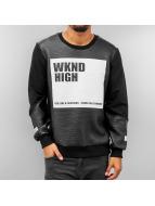 VSCT Clubwear Pullover WKND High schwarz