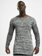 VSCT Clubwear Pulóvre 2 Colour Moulinee šedá