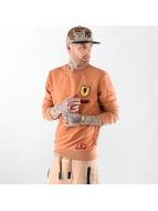 VSCT Clubwear Pulóvre Customized Patch Crew oranžová