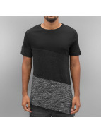 Sate Mix Fabric T-Shirt ...