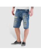 VSCT Clubwear Shortlar Anthony Denim Bermuda mavi