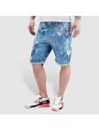 VSCT Clubwear Shortlar Alec Bleached Bermuda mavi