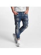 VSCT Clubwear Thor Slim 7 Pocket Denim Jeans Blue Stone Washed