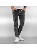 VSCT Clubwear Lazer Racer Jeans Black Stoned Vintage