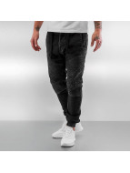 VSCT Clubwear Skinny jeans Neo Cuffed svart