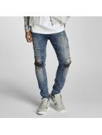 VSCT Clubwear Arnachy Heavy Biker Jeans Used Blue Stoned