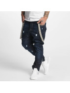VSCT Clubwear Brad Jeans With Suspenders Watersave Rinsed