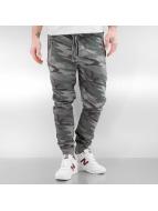 VSCT Clubwear Spodnie do joggingu Raw Edge moro