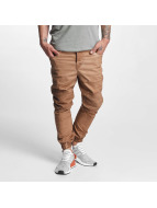 VSCT Clubwear Stoffbukser Noah Biker brun
