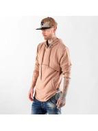 VSCT Clubwear Sweat à capuche Layer brun
