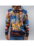 VSCT Clubwear Sweat à capuche NYC Night multicolore
