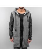 VSCT Clubwear Sweat à capuche zippé Xtended gris