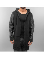 VSCT Clubwear Sweat à capuche zippé Xtended noir
