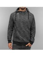 VSCT Clubwear Sweat capuche Shiro 2 Zip Moulinee Kangool gris