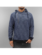 VSCT Clubwear Sweat capuche Shiro 2 Zip Moulinee Kangool indigo
