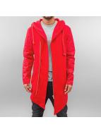 VSCT Clubwear Sweatvest Asymetic Luxury Sweat rood