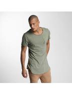 VSCT Clubwear T-shirt Flamed Pkt cachi