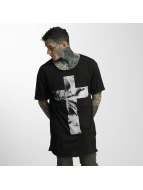 VSCT Clubwear T-Shirt Cross Palm Loose noir