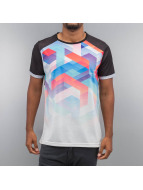 VSCT Clubwear T-Shirt Geo Maze Fade schwarz