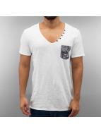 VSCT Clubwear T-shirt Haze V Neck vit
