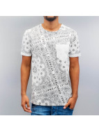 VSCT Clubwear T-Shirt Bandana Pocket weiß