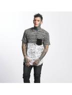 VSCT Clubwear T-Shirt 3-C Moulinee Knit weiß