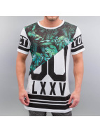 VSCT Clubwear t-shirt Zero Jungle Mesh Oversize wit