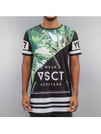 VSCT Clubwear t-shirt Palms Triangle Mix zwart