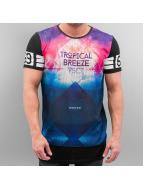 VSCT Clubwear t-shirt Tropical Breeze Mix zwart