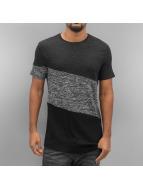 VSCT Clubwear Sate Mix Fabric T-Shirt Original