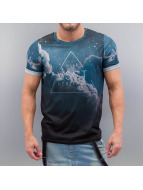 VSCT Clubwear T-Shirty Dark Clouds niebieski
