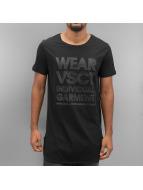VSCT Clubwear Tall Tees Monochrome Long czarny
