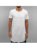 VSCT Clubwear Tall Tees Monochrome Long weiß